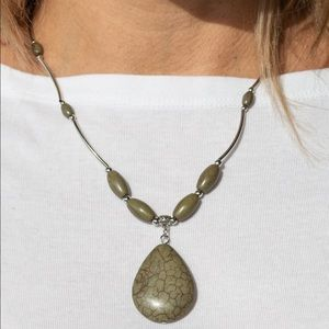 Explore the Elements green necklace
